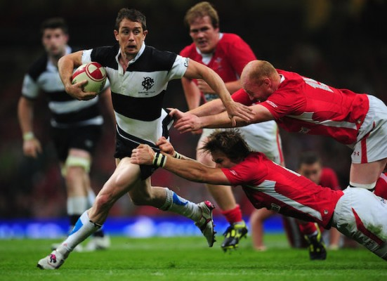 Shane Williams' column: Here's to next 125 years of Barbarians wizardry