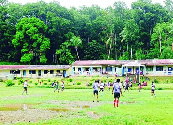 A training session againts the ratu felise village