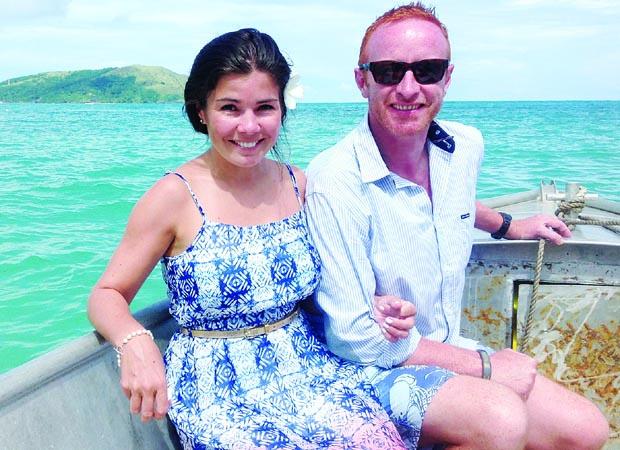 Ben Ryan and wife Natalie
