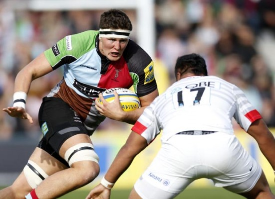 I can be the new Harlequins enforcer, says Charlie Matthews