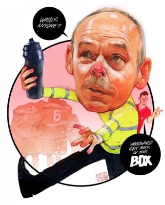 Clive Woodward cartoon