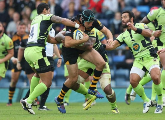 New-found grit puts Wasps in contention