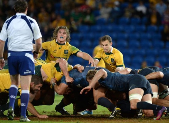 Jeff Probyn: Referee the mark and straight feed and scrums will be fine