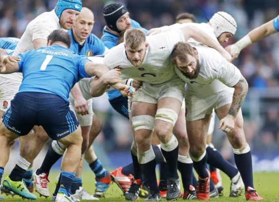 Nick Cain talks to the England forwards coach Graham Rowntree about the exciting new dynamism of his pack