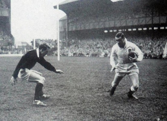 Brendan Gallagher's feature on Alan Hancock's try against Scotland in 1965