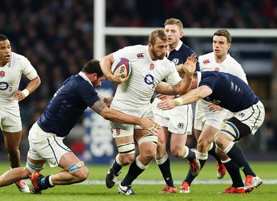 George Ford and JJ have given us a cutting edge – Chris Robshaw