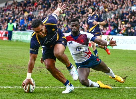 Danny Cipriani's advice helps Cooper Vuna get up to speed