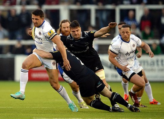 Jeremy Guscott's column: Sam Burgess can be deadly force as Bath's back-row destroyer