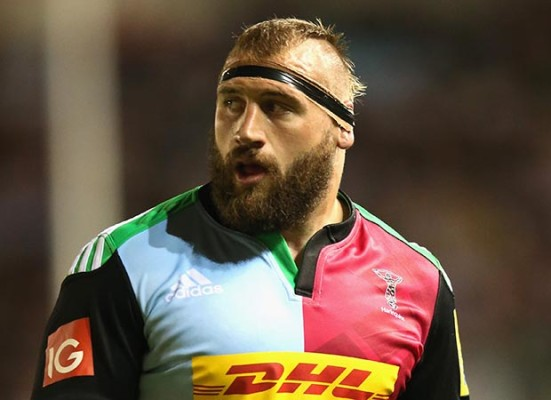 Clown prince Joe Marler plays it seriously now