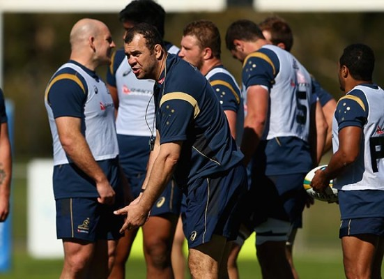 Nick Cain looks at the way Michael Cheika is trying to rebuild the Australian scrum