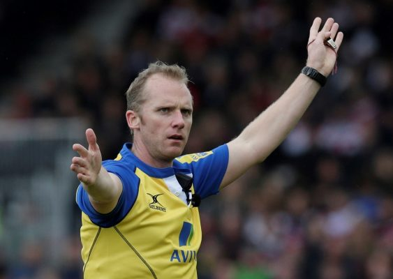 Wayne Barnes to referee Champions Cup final between Leinster and Racing 92