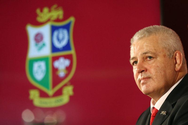 Lions head coach - Warren Gatland