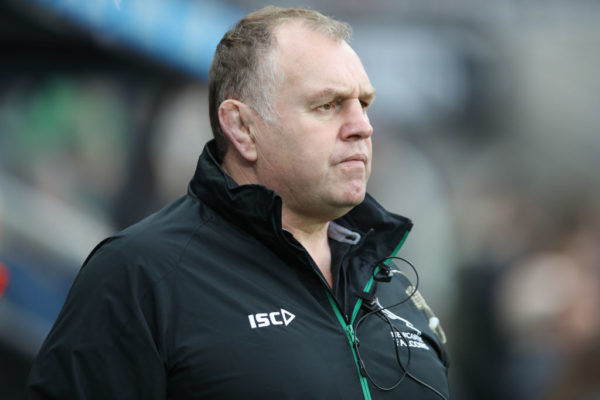 Q&A: Dean Richards considered his position at Newcastle Falcons