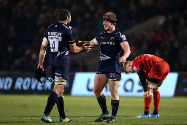 Sale Sharks - Josh Beaumont and Ross Harrison
