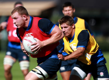 England - Sam Underhill and Piers Francis