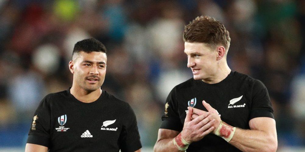New Zealand - Richie Mo'unga and Beauden Barrett