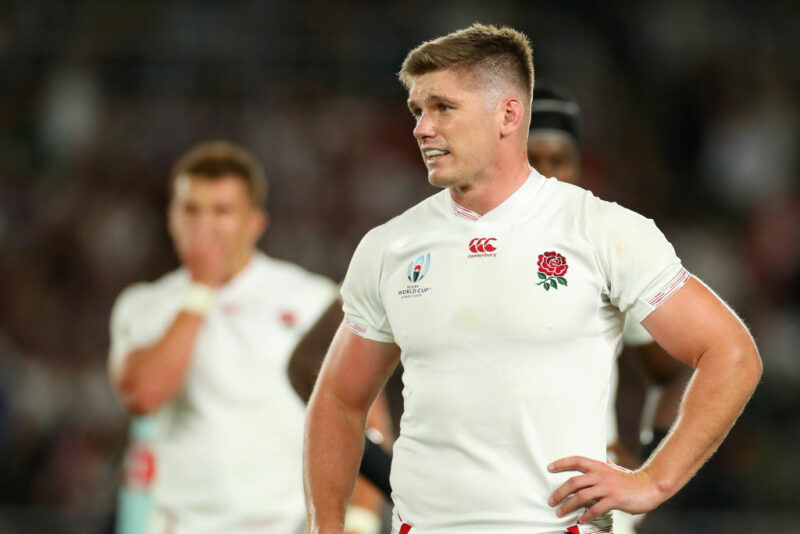 Owen Farrell will captain England in the World Cup final
