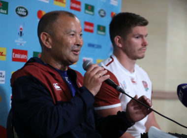 England coach Eddie Jones and captain Owen Farrell