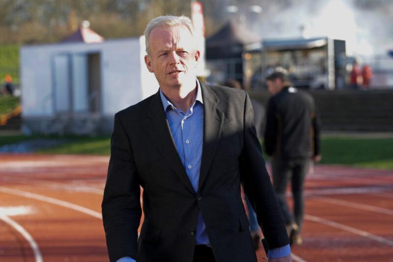 Ex-Saracens chief executive Ed Griffiths