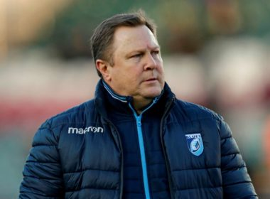 Cardiff Blues head coach John Mulvihill