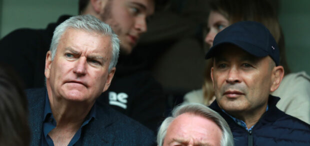 Bill Sweeney and Eddie Jones