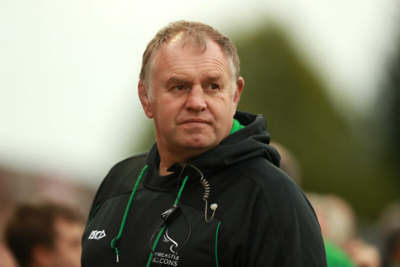 Newcastle Falcons director of rugby Dean Richards