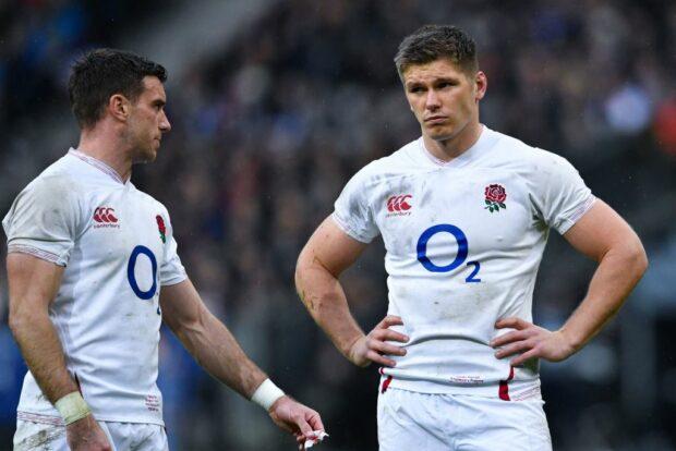 George Ford and Owen Farrell - England