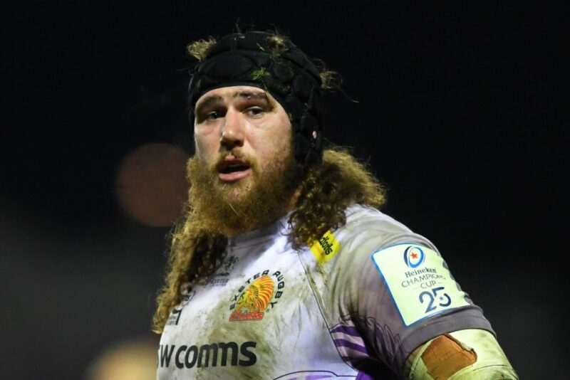 Exeter Chiefs prop Harry Williams