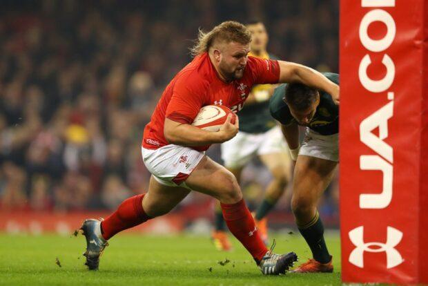 Wales prop Tomas Francis