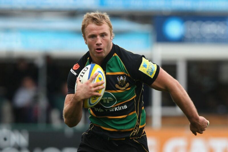 Northampton Saints No.8 Roger Wilson
