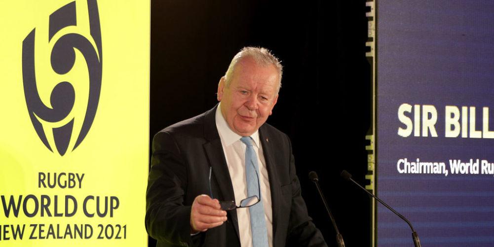 World Rugby chairman Sir Bill Beaumont