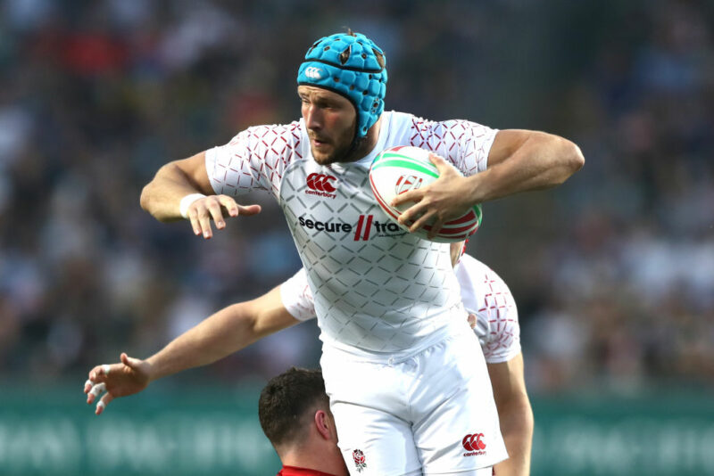 England Sevens forward Richard de Carpentier