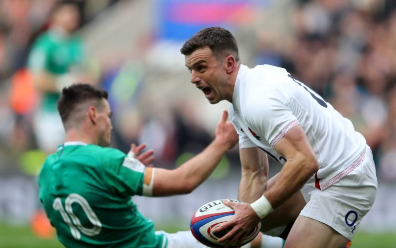 George Ford in Six Nations action for England
