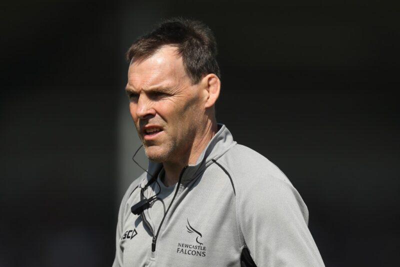 Newcastle defence coach John Wells