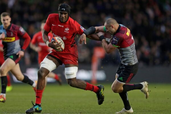 Kpoku brothers pose twin threat in Saracens engine room
