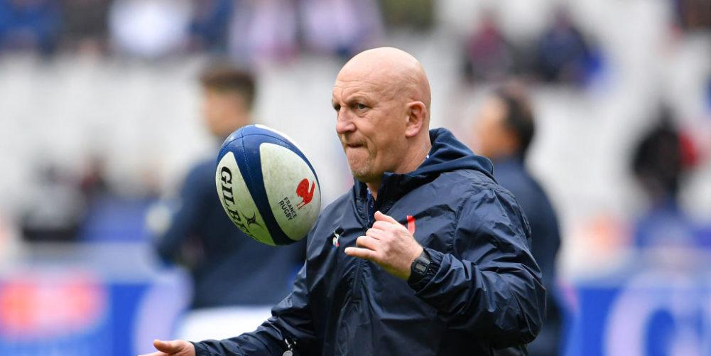 France defence coach Shaun Edwards