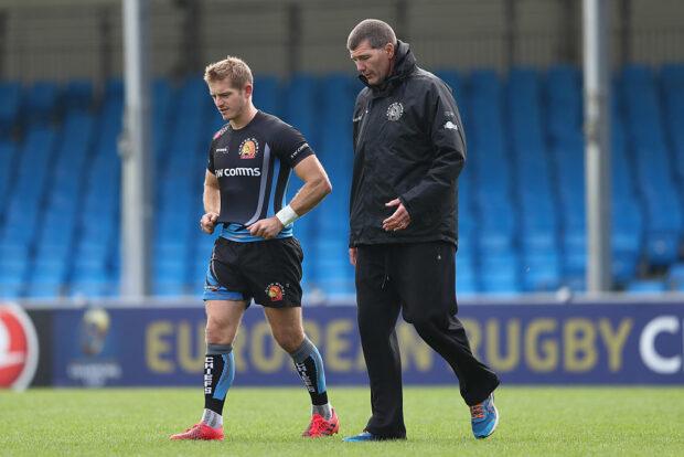 Gareth Steenson and Rob Baxter