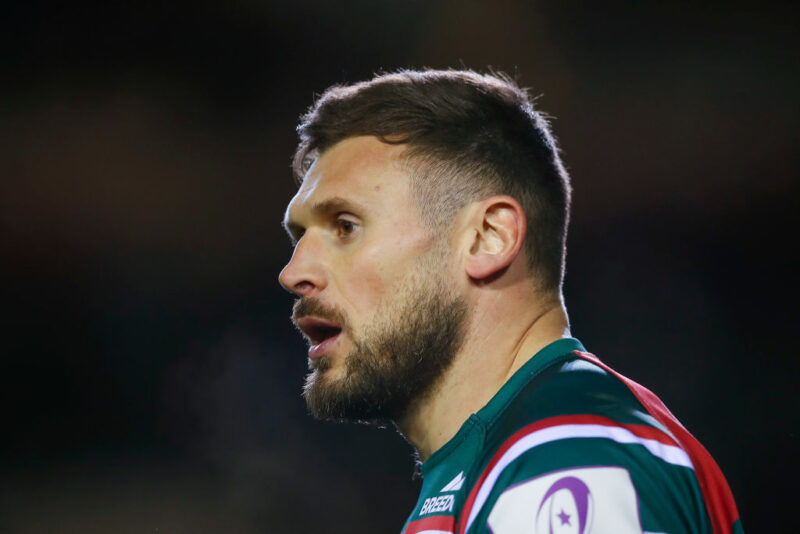 Leicester Tigers wing Adam Thompstone