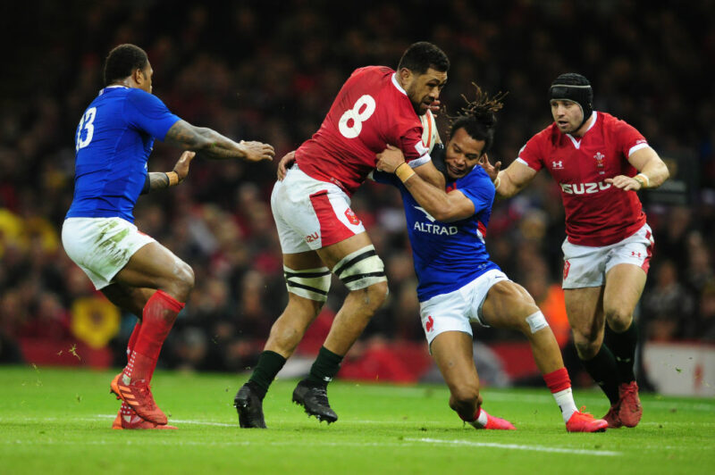Wales No.8 Taulupe Faletau toured with the Lions in 2013 and 2017