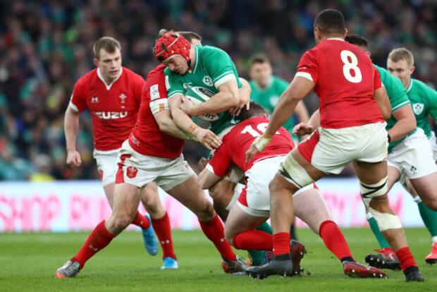 Ireland flanker Josh van der Flier