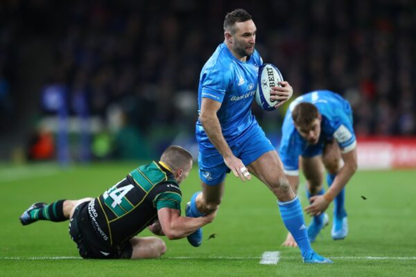 Leinster wing Dave Kearney is king of Europe's elite tryscorers