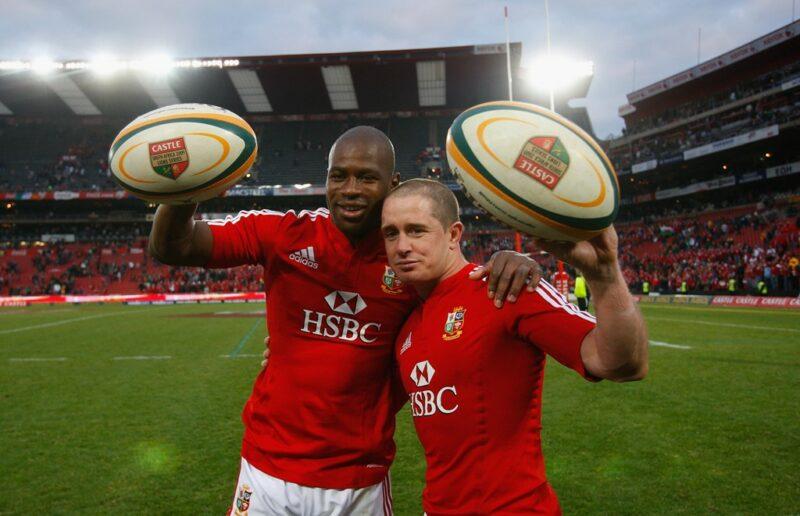 Shane Williams and Ugo Monye