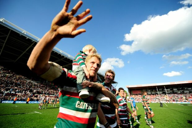 Leicester Tigers - Lewis Moody