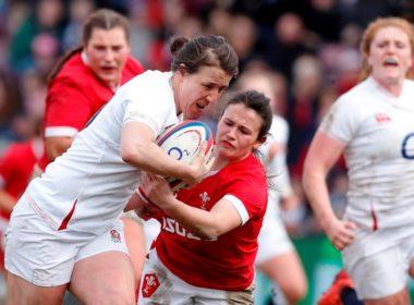 England fly-half Katy Daley-McLean