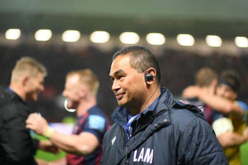 Bristol Bears director of rugby Pat Lam
