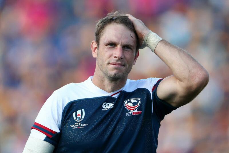 USA captain Blaine Scully