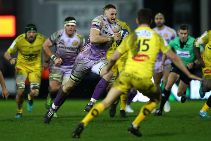 Exeter Chiefs in Champions Cup action