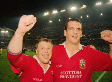 Lions duo Scott Gibbs and Martin Johnson