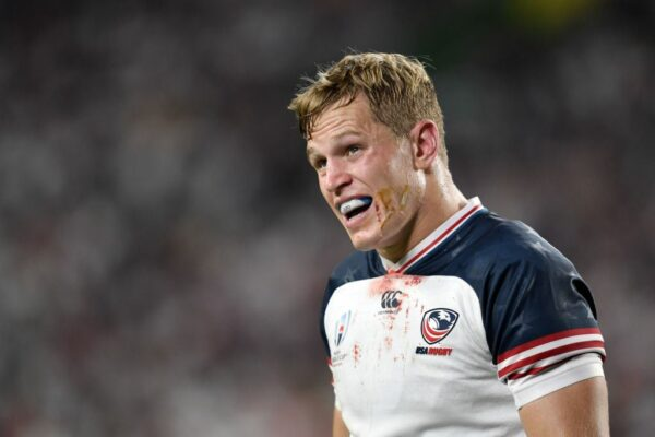 Dream Team: USA and former Northampton and Bedford Blues fly-half Will Hooley
