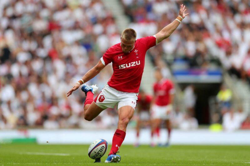 Wales fly-half Gareth Anscombe